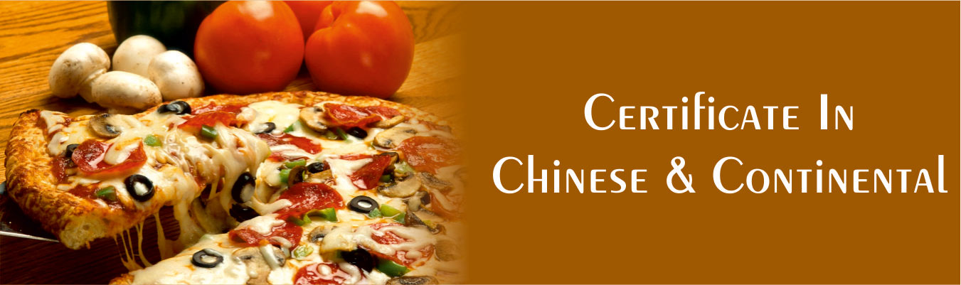 Certificate Course in Chinese continental Food