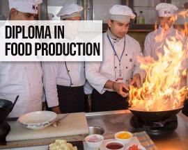 Diploma in food production courses