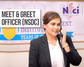 Meet & Greet Officer (NSDC)
