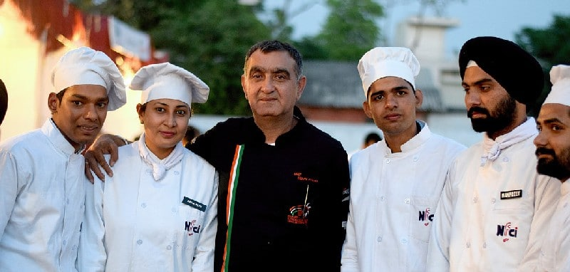 Master Chef with Students