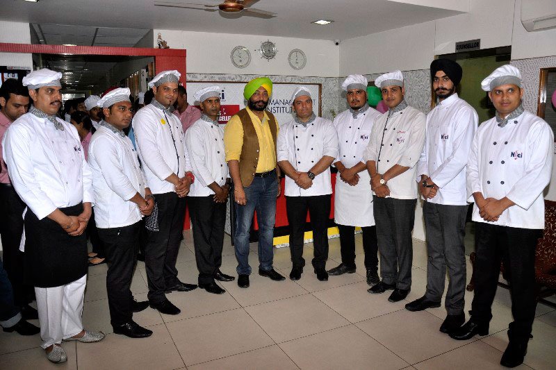 Harpal Sokhi with Team NFCI