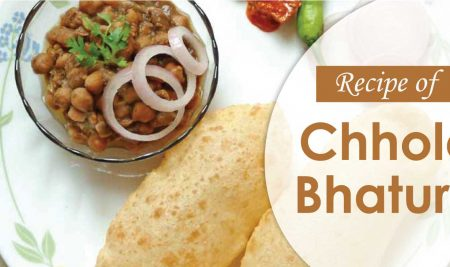 Recipe of Chhole Bhature