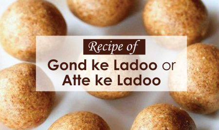 Recipe of Gond ke Ladoo or Atta ladoo