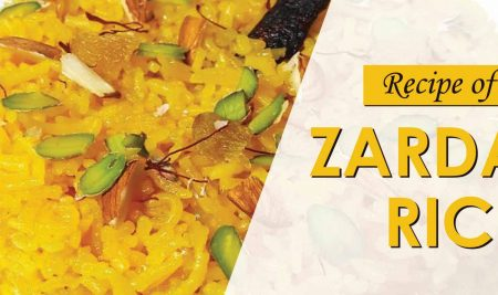 Recipe of Peeley Chawal | Zarda Rice