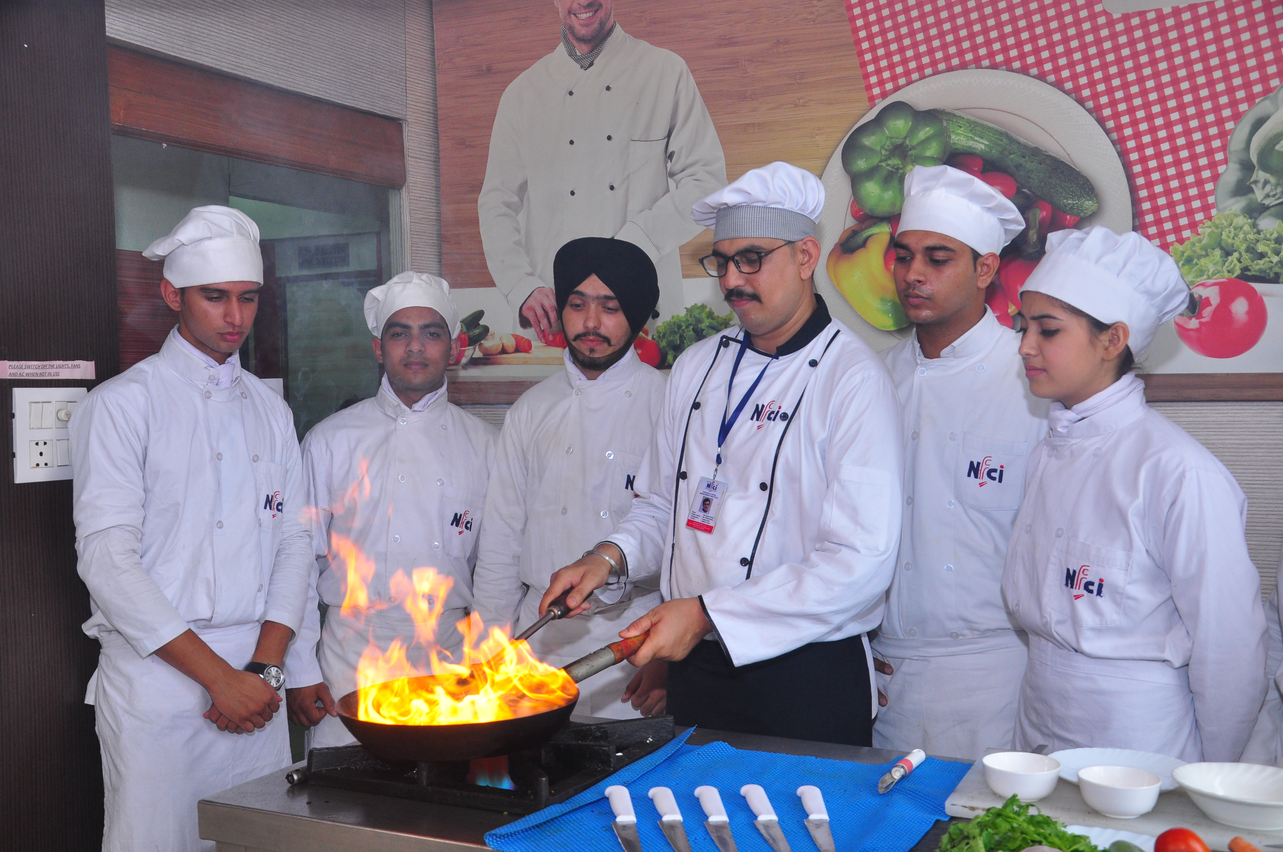 certificate course in food production