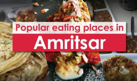 "Project report by NFCI Student's on ""Popular eating places in Amritsar"""