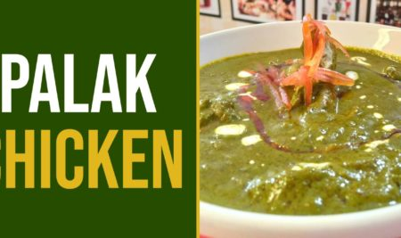 Recipe of Palak Chicken