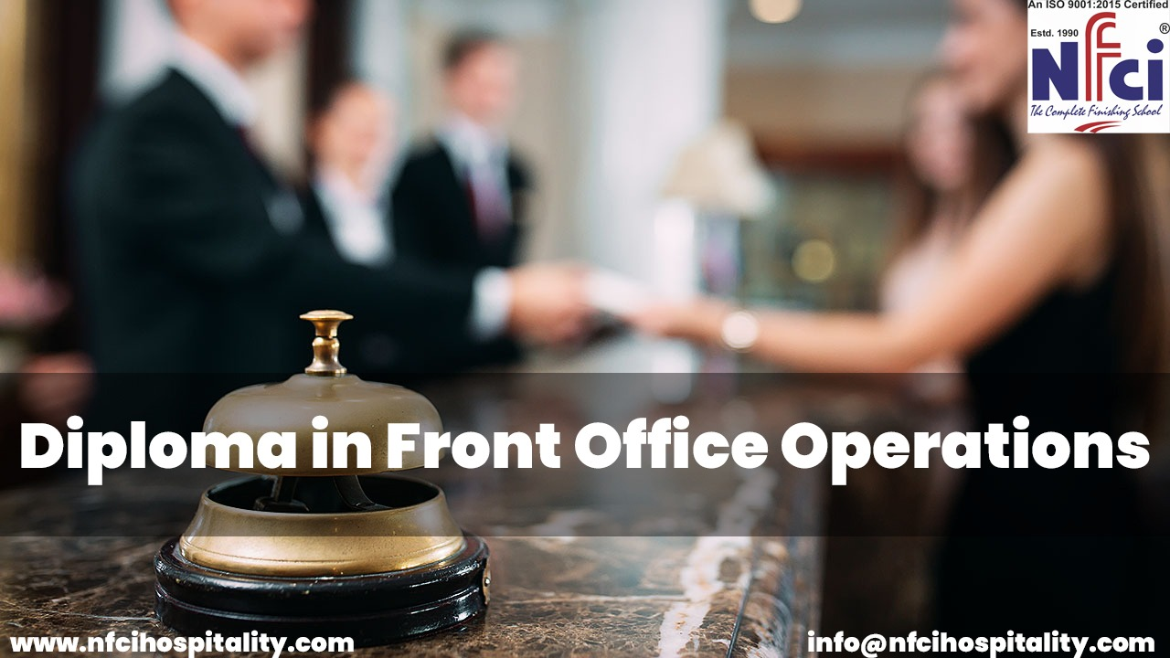 diploma in front office operations