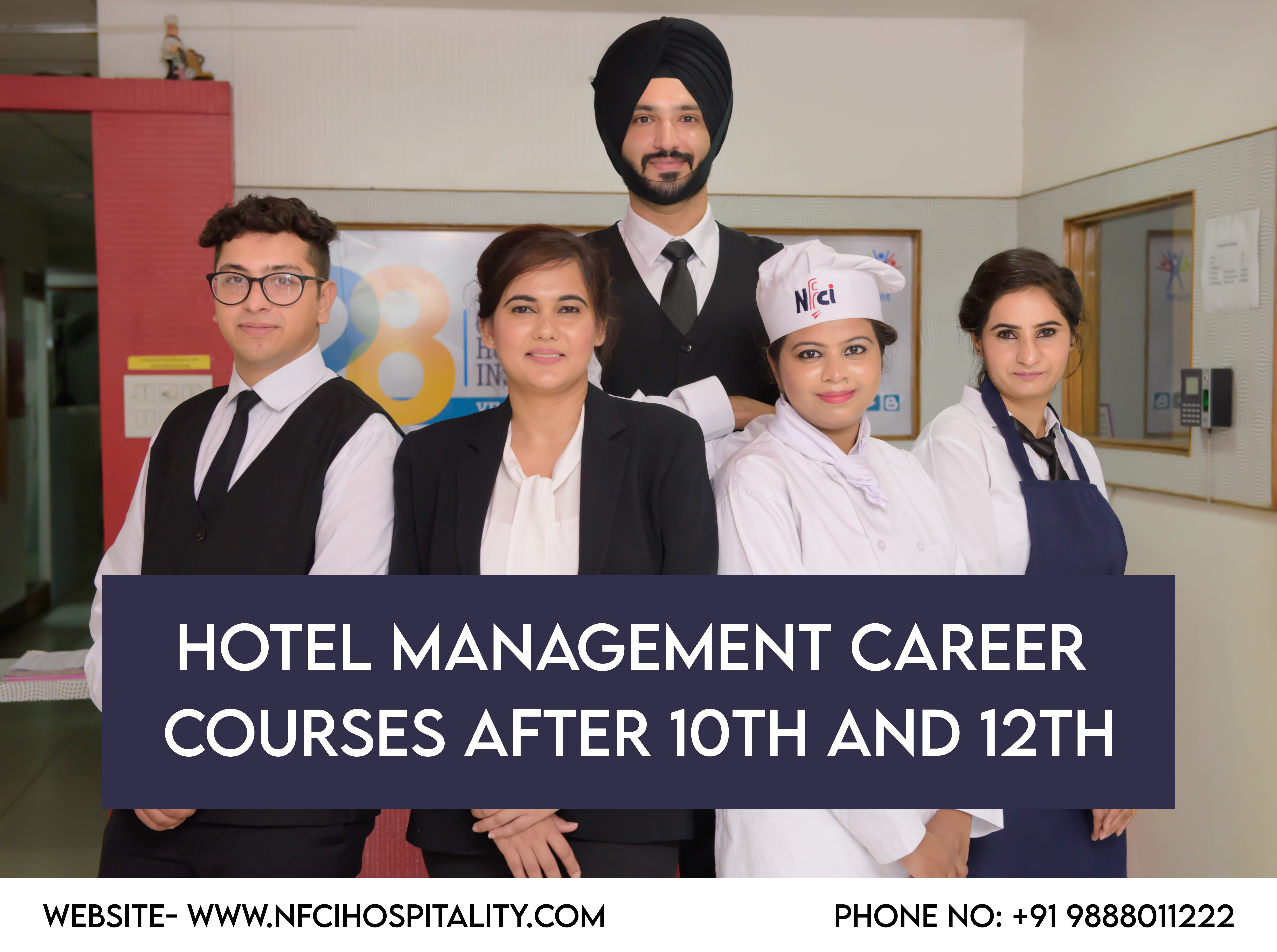 Hotel Management Career Courses after 10th and 12th