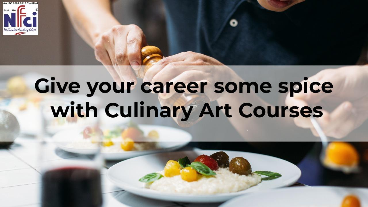 culinary arts courses for career